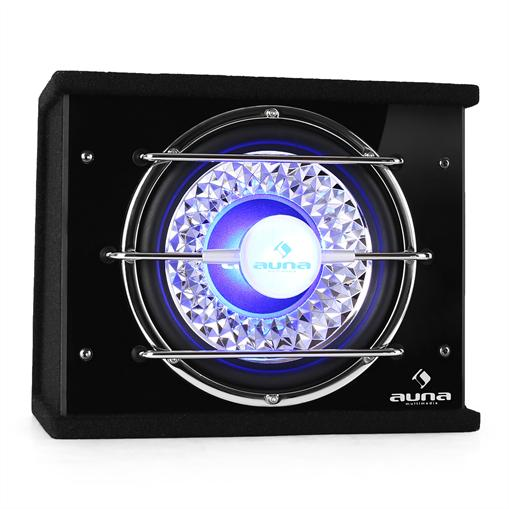 Subwoofer caisson basse 25CM LED 600W sono auto car sub
