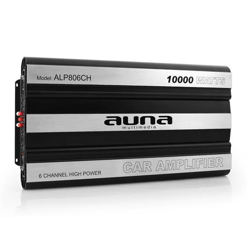 Amplificator de mașină AUNA 10,000 Watt 6-Canale Bridgeable