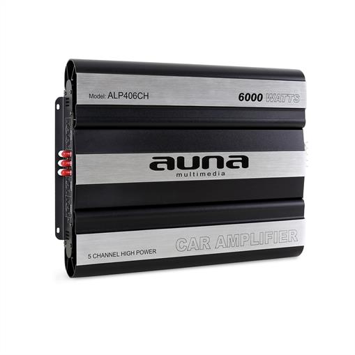 Amplificator de mașină AUNA 6000 Watt 5-Canale Bridgeable