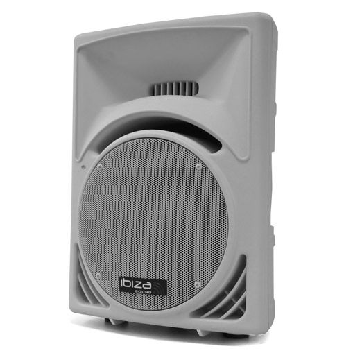 "Ibiza 700W 15"" Passive DJ PA Speaker ABS Housing - White"