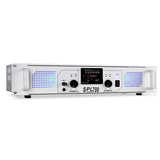 Skytec Ampli DJ PA Sono SPL-700 USB SD MP3 LED 2000W