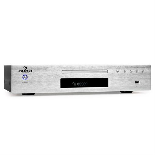Auna AV2-CD509 odtwarzacz MP3-CD tuner radiowy USB MP3