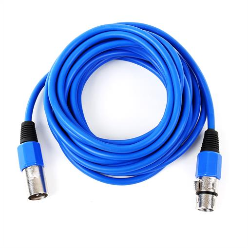 FrontStage - Cable XLR 6  m azul