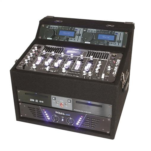 Ibiza DJ1000 MKII, DJ CD MP3 USB SD AUX, STANICA