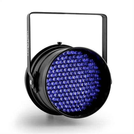 Reflektor Lightcraft Monroe LED-PAR64 DMX 177  UV LED czarny