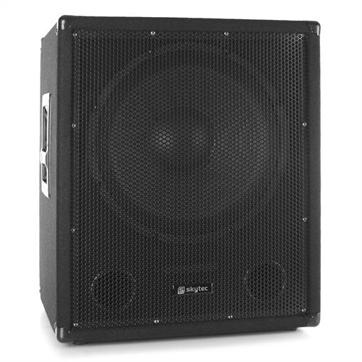 SkyTec SMWBA15 Subwoofer PA activo AUX MIC