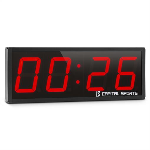 Capital Sports Timeter 2.0 Chronomètre Séances Tabata Cross-Training 4 chiffres alarme
