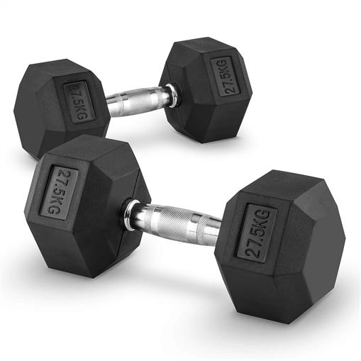 Capital Sports Hexbell 27,5 Dumbbell hantle krótkie  27,5kg