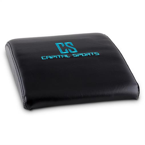 Capital Sports Backsill ABMat tapis entraînement abdos &  dos -noir