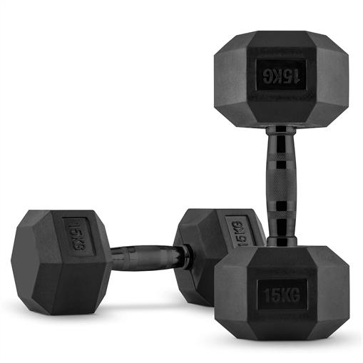 CAPITAL SPORTS Hexbell Hantle krótkie para 2 x 15 kg