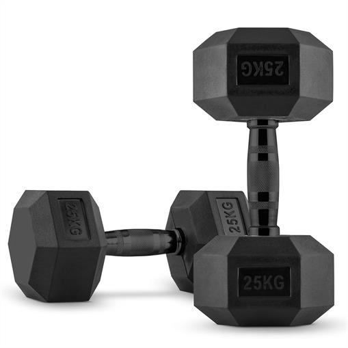 CAPITAL SPORTS Hexbell Hantle krótkie para 2 x 25 kg