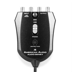 American Audio USB Analog-Digital-Wandler  Phono Line PC