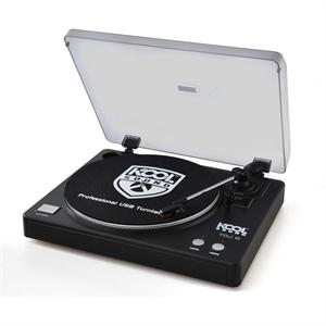 Koolsound giradischi vinile usb aux mp3 pc mac dj hifi: Clicca sull´immagine per ingrandirla!