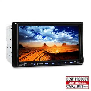 Auna  DVA72BT Moniceiver 18cm-Display DVD-Player