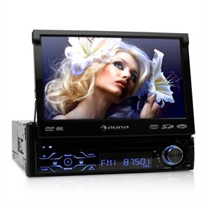 Auna  MVD-180 Autoradio Display DVD-Player Bluetooth