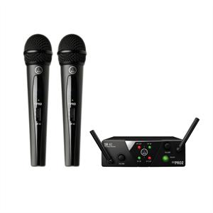 AKG  WMS 40 MINI Dual Vocal Set ISM Wireless Mikrofon-System kabellos