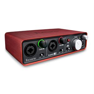 Focusrite  Scarlett 2i2 USB Audio-Interface +48V