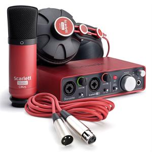 Focusrite  Scarlett Studio Profi-Recording-Bundle
