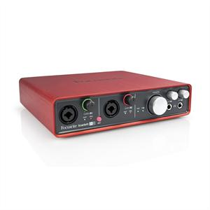 Focusrite  Scarlett 6i6 USB-MIDI-Audio-Interface +48V