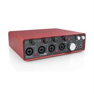 Focusrite  Scarlett 18i8 USB-MIDI-Audio-Interface +48V