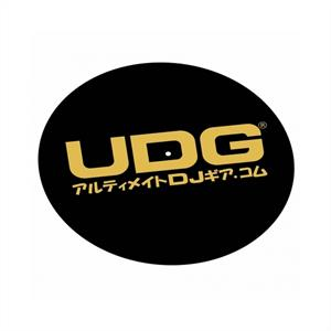 UDG  Slipmat Gold Japanese Text Slipmat 2er Set