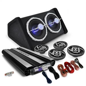"4.1 Car Hifi Set ""Black Line 620"" Verstärker Boxen"