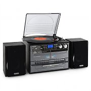 Impianto hifi cd giradischi vinile cassette mp3 sd usb