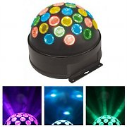 Beamz LED Fireball Disco Lichteffekt mehrfarbig