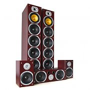 Beng V9B Sistema 5.1 Home Theater 1240W Set Mogano