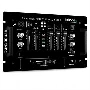 Console dj pa mixer 4 canali usb micro mp3 10 ingressi