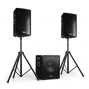 Ibiza Cube 1512 Set audio attivo 2.1 800W