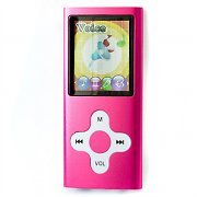 Video-MP3-Player Marquant MP4 Foto 4GB Pink 40g