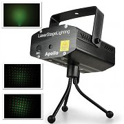 Mini Effekt Multipoint Laser Beamz grn rot Stativ
