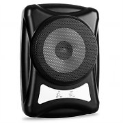 Subwoofer attivo 400W piatto 20cm car audio auto basse