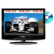 "Akai tv lcd 22"" lettore dvd hd ready hdmi 12V qualita"