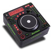 Console dj tech pa mixer digitale 2 x usb mp3 scratch