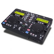 USB-DJ-Konsole DJ-Tech U2 Station 2-Kanal-Mixer MP3-Scratch