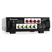 Karaoke-HiFi-Verstrker Auna 400W PA-Endstufe Equalizer