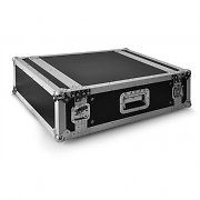 "Flight fly case dj rack valigia trasporto 48cm (19"") 4u"