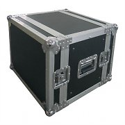 "Fly flight case dj rack valigia trasporto 48cm (19"") 8u"