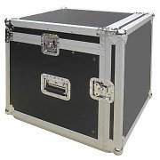 Flight case dj pa rack valigia trasporto mixer 10u / 7u
