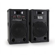 aktives PA-Boxen-Set Skytec 30cm 1200W USB-SD-MP3