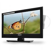 TV Lcd-Led Akai Aled 1905T 47cm con lettore DVD e USB