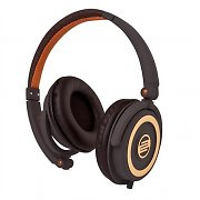 Reloop RHP-5 cuffie con microfono Chocolate Crown