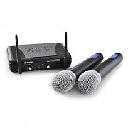 Set microfoni wireless UHF Skytec STWM722 2xMic