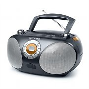 mobiles CD-Radio Muse M25-RD USB-MP3 Boombox Batterie