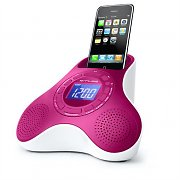 Muse M105-PI iPhone/iPod Dock AUX in design radiosveglia