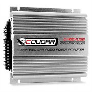 Amplificatore finale auto Cougar C400-4 1200W 4 canali