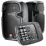 JBL EON210P mobiles PA System 8 Kanal Mixer 300W RMS
