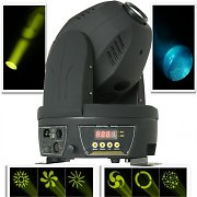 Beamz testa mobile MHL-60 spot 60W 12 DMX LED moving head